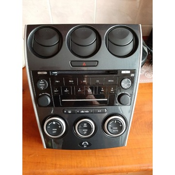 Poliftowy panel klimatyzacji Mazda 6
