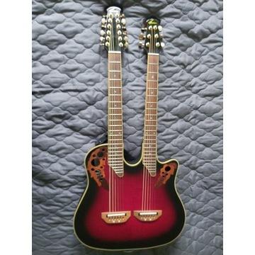 gitara Ovation Double Neck CSE 225-BCBY dwugryfowa