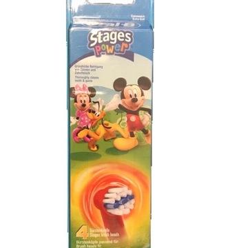 4x Oral-B Końcówki dla Dzieci Myszka Mouse Braun