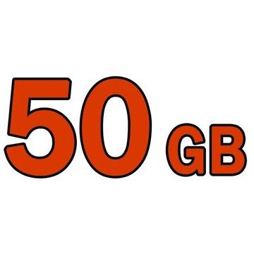 CHOMIKUJ TRANSFER   50 GB 30 DNI   BEZ AUTOMATU