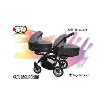 BabyActive Twinni Wózek dla Bliżniąt NOWOŚĆ!!!