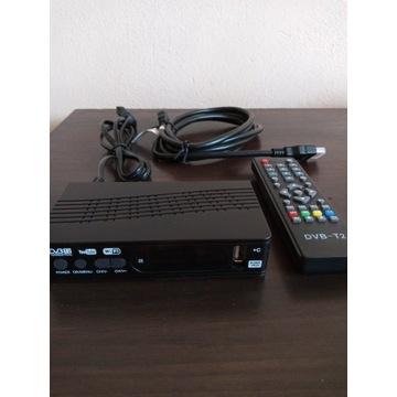 Nowy Dekoder TV Naziemna Kablowa DVB-T/T2/C Tuner