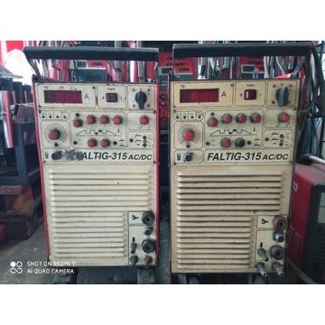 Dwie spawarki FALTIG-315 AC/DC