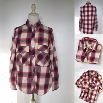 Koszula w kratę damska Sinsay i terranova 2 koszule Piekary