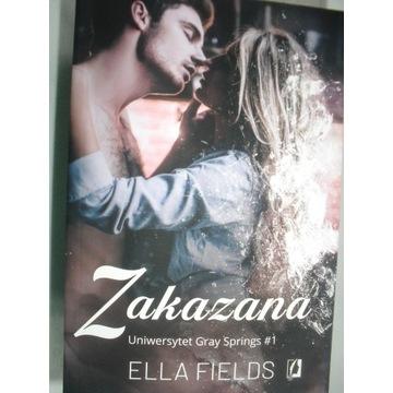 Książka ELLA FIELDS ZAKAZANA