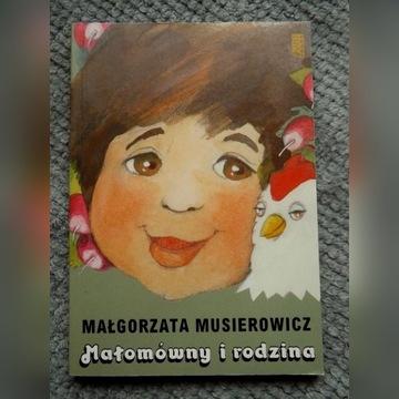 """Małgorzata Musierowicz """"Małomówny i rodzina"""""""