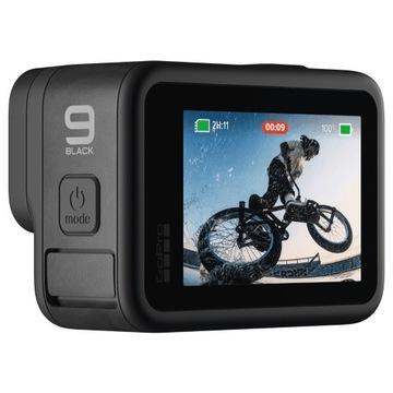 Kamera GoPro Hero 9 Black - mało używana, IDEALNA