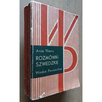 Rozmówki szwedzkie - Anita Thierry
