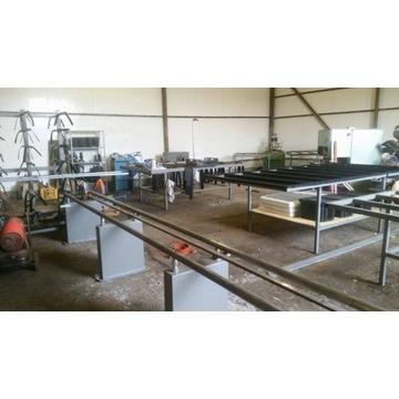 Maszyny do produkcji okien i drzwi z PCV (netto)