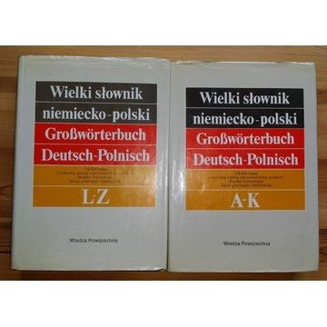 WIELKI SŁOWNIK NIEMIECKO-POLSKI i POLSKO-NIEMIECKI