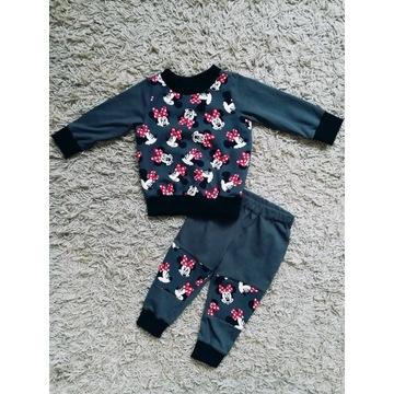 Dres Handmade bluza + spodnie r. 80 Myszka Minnie