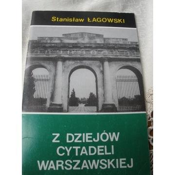 Z dziejow Cytadeli Warszawskiej