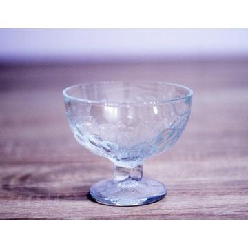 Salaterka kryształowa pucharek do lodów bezbarwny