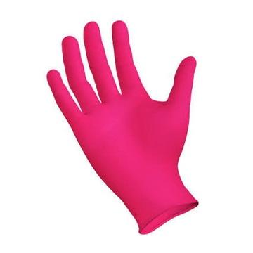 """Rękawiczki Warsztatowe """"S"""" 100 sztuk różowe"""