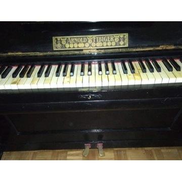 Pianino Arnold Fibiger - po renowacji