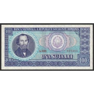 Rumunia 100 lei 1966 - A.0069