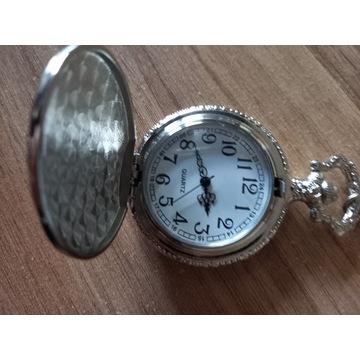 Kieszonkowy  stylowy Zegarek Męski