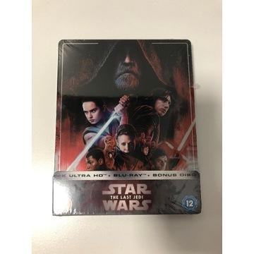 [ Star Wars - The Last Jedi ] 4K Steelbook FOLIA