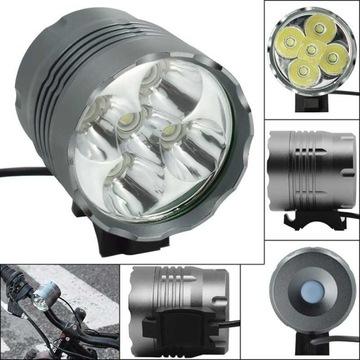 Lampka rowerowa 5xLed XM-L2 5000 lm najmocniejs
