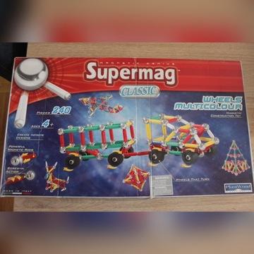 klocki magnetyczne SUPERMAG CLASSIC 240 4+