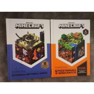 2x książka Minecraft - stan jak nowa