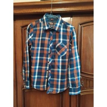 Bluzka Koszulowa w Kratke 152-158
