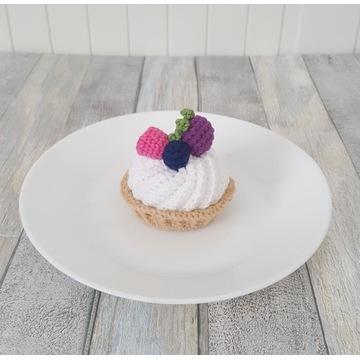 Tartaletka z maliną i jagodami