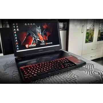 Laptop MSI TITAN - jedyny taki!!! 18.4
