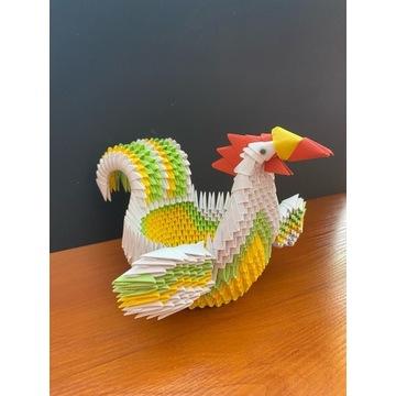 Origami modułowe kurczak