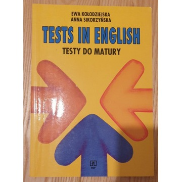 Testy do matury, Tests in English