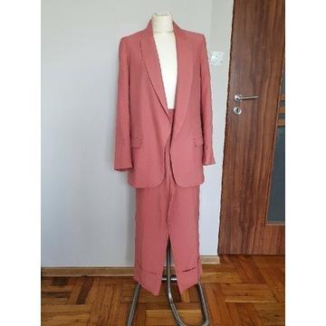 Komplet Zara , spodnie + marynarka r.36/S