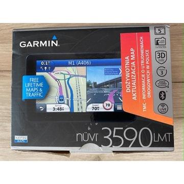 Nawigacja GPS Garmin Nuvi 3590LMT Dożywotnie mapy!
