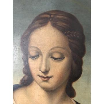 Portret Madonny J.Bołtuć 1937 Nowogródek