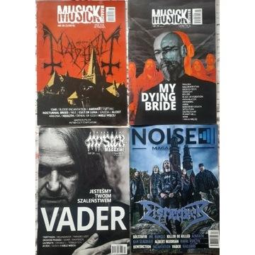 Zestaw gazet 3 x Musick Magazine + Noise