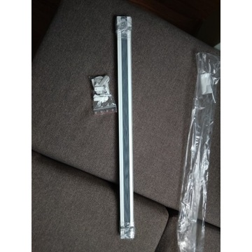 Plisa termo szara NOWA 78 cm x 122 cm bezinwazyjna