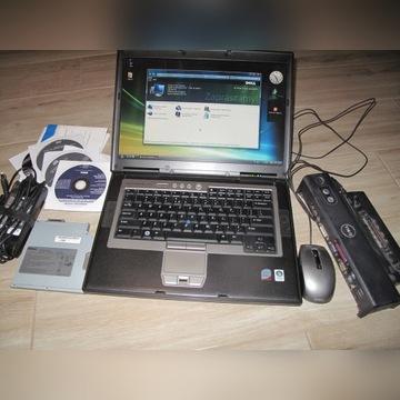 Sprawny Dell D830 T7500@2,2GHz 2GB 120HDD