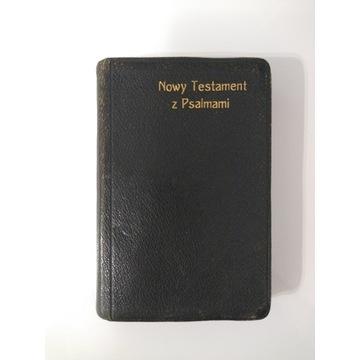 Nowy Testament z Psalmami - kieszonkowy, 1922 rok