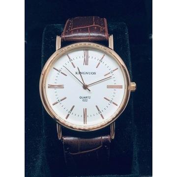 Zegarek męski elegancki/ biznesowy pasek