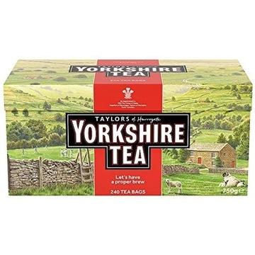 Yorkshire Tea - Herbata Czarna 240szt UK