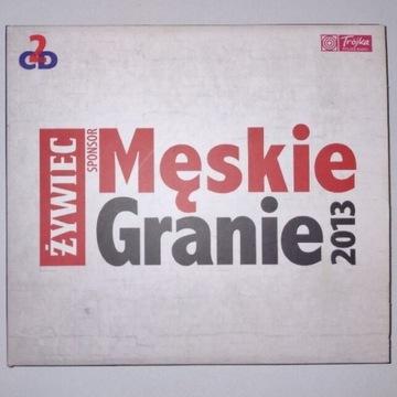 MĘSKIE GRANIE 2013 - 2CD O.S.T.R NOSOWSKA LAO CHE