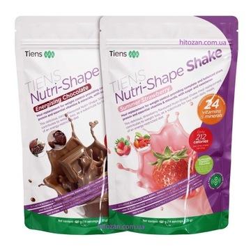 Zestaw NUTRI-SHAPE KOKTAJL Czekolada+Truskawka