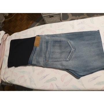 Spodnie ciążowe h&m mama 44