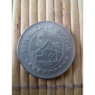 moneta 5 peso 1976 Boliwia