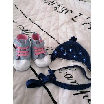 Czapka plus buty