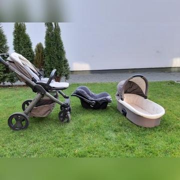 Wozek xlander + fotelik maxicosi