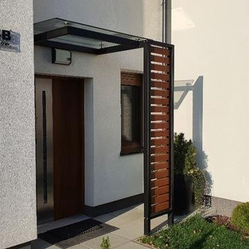 Zadaszenie drzwi JULIA 150x90