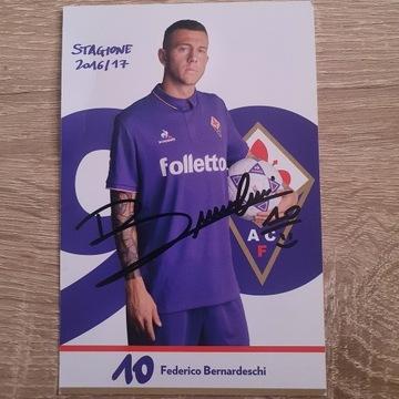 Autograf Federico Bernardeschi - AC Fiorentina