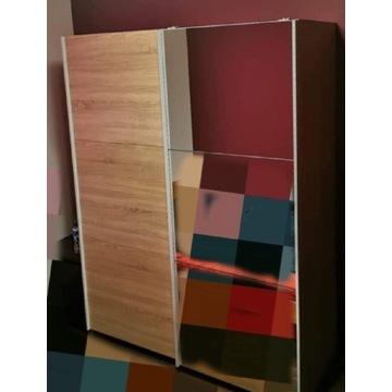 Szafa 150x200 cm drzwi przesuwne DĄB SONOMA