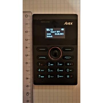 MINI MICRO TELEFON KOMÓRKOWY AIEK, WARSZAWA