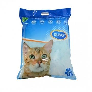 Żwirek dla kota DUVO+ silikonowy 16L